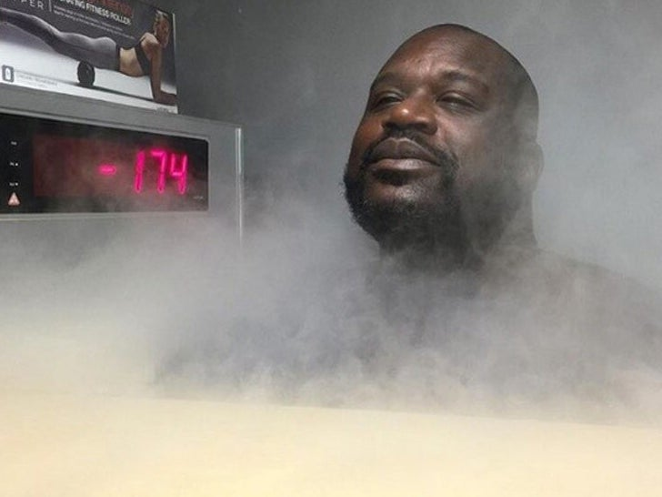Celebrities Chilling in Cryogenic Chambers