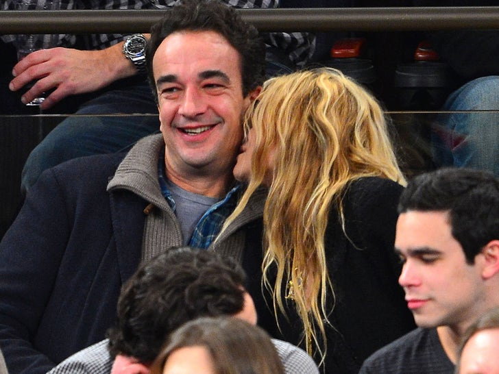 Mary-Kate Olsen and Olivier Sarkozy Happier Times