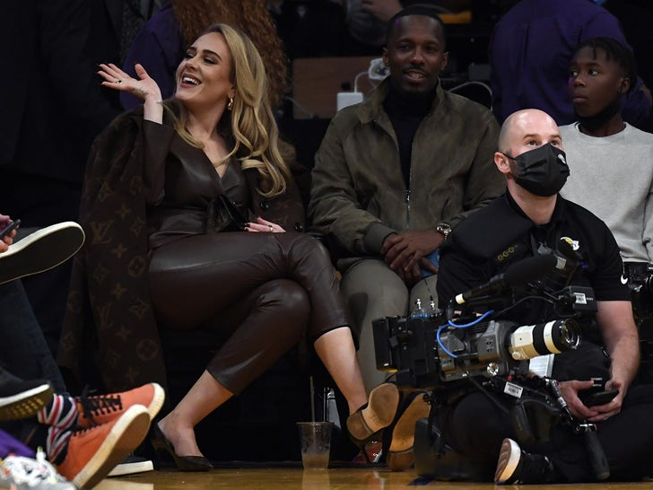 Celebs Courtside At The Lakers
