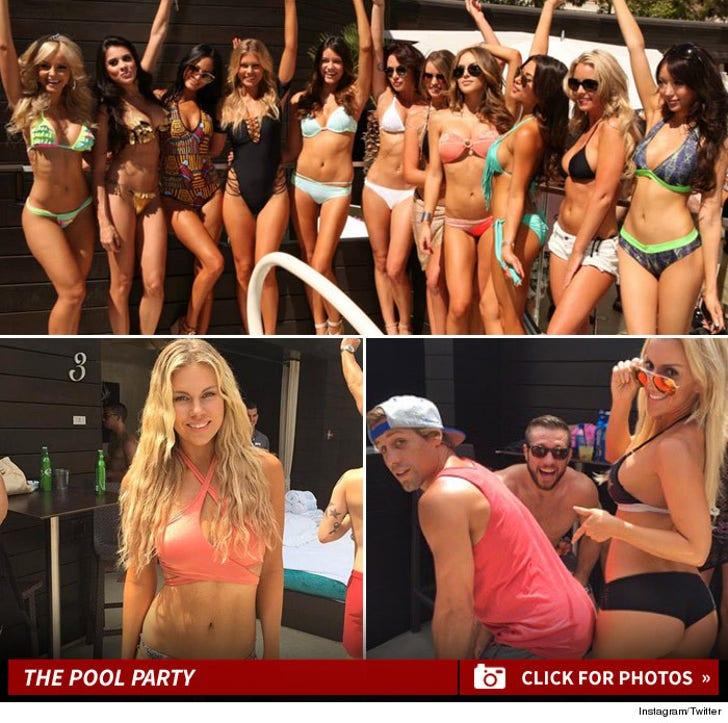 UFC Pool Party Photos