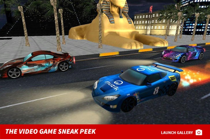 French Montana's Speed Gods Racing Game