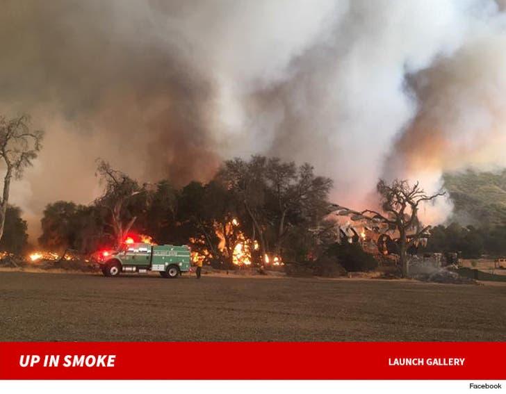 Sable Ranch - The Santa Clarita Fire
