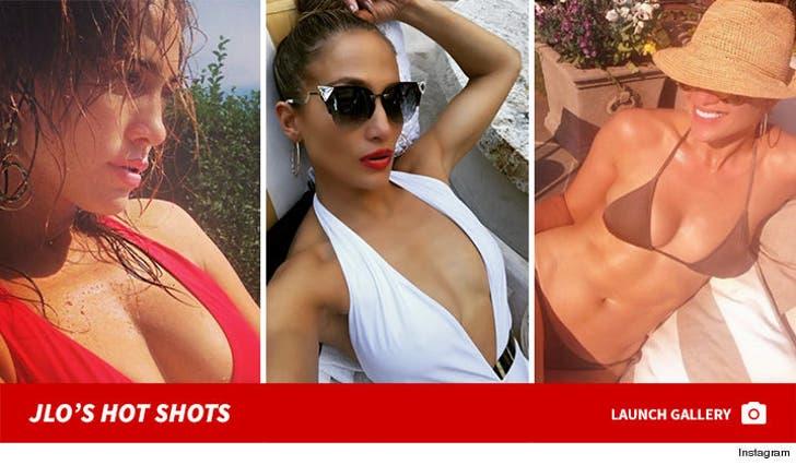 Jennifer Lopez's Sexy Shots