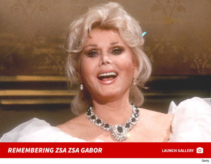 Remembering Zsa Zsa Gabor
