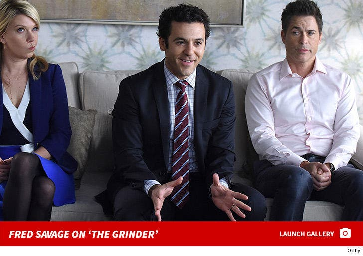 Fred Savage on 'The Grinder'