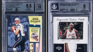 Tom Brady, LeBron James Rare Cards Sell For $1.72 Million Each!!!