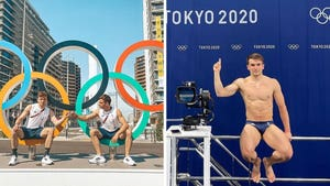 Olympic Athletes In Tokyo