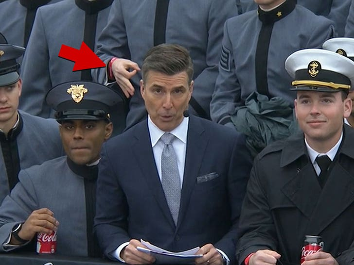 Army, Navy investigators find hand gestures made during football broadcast weren't racist