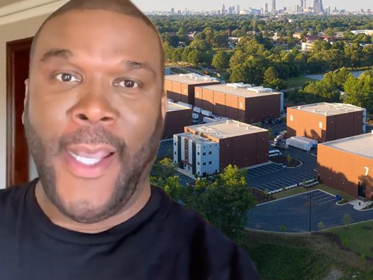 Tyler Perry Working On Safe Way to Reopen Atlanta Studios 1