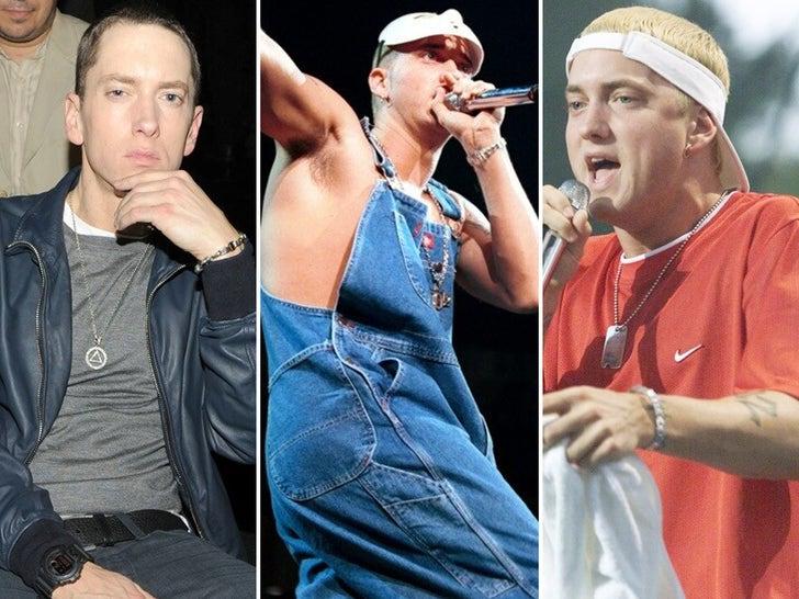 Eminem Through The Years