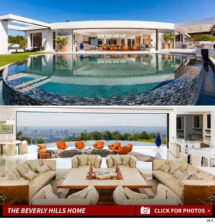 Beyonce & Jay Z -- Lose Insane Beverly Hills Mansion