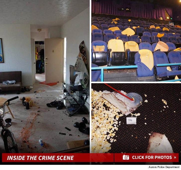 Colorado Theater Shooting Chilling Crime Scene Photos