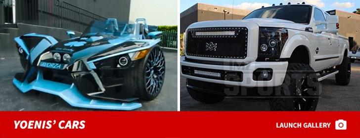 Yoenis Cespedes' Cars