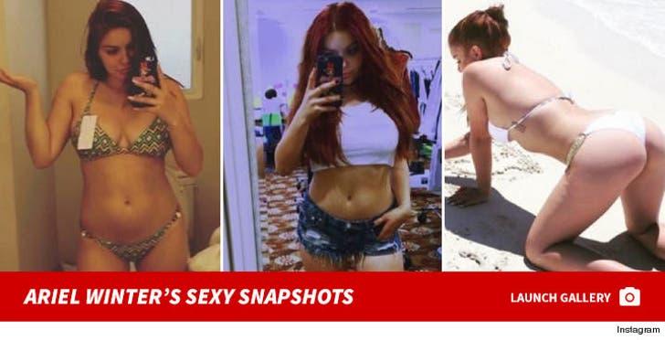 Ariel Winter's Sexy Snapshots