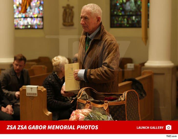 Zsa Zsa Gabor Memorial Photos