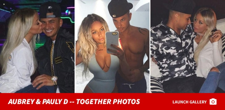 Pauly D and Aubrey O'Day -- Together Photos