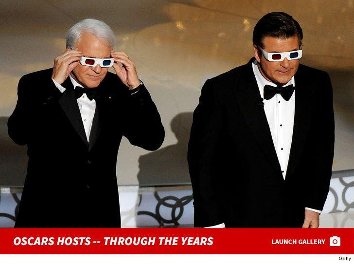 Oscars Hosts -- Through the Years!