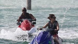Katie Holmes & Jamie Foxx Jet Ski Together in Miami For Holiday Getaway