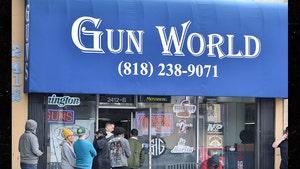 Los Angelenos Flock to Gun Stores During Coronavirus Scare