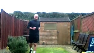 British Man Runs Backyard Marathon, Raises $33k For Coronavirus Relief