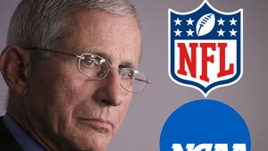 Dr. Fauci Warns America, 'Football May Not Happen This Year'