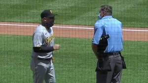 Pittsburgh Pirates Pitcher Tossed, Manager Masks Up to Yell at Umpire