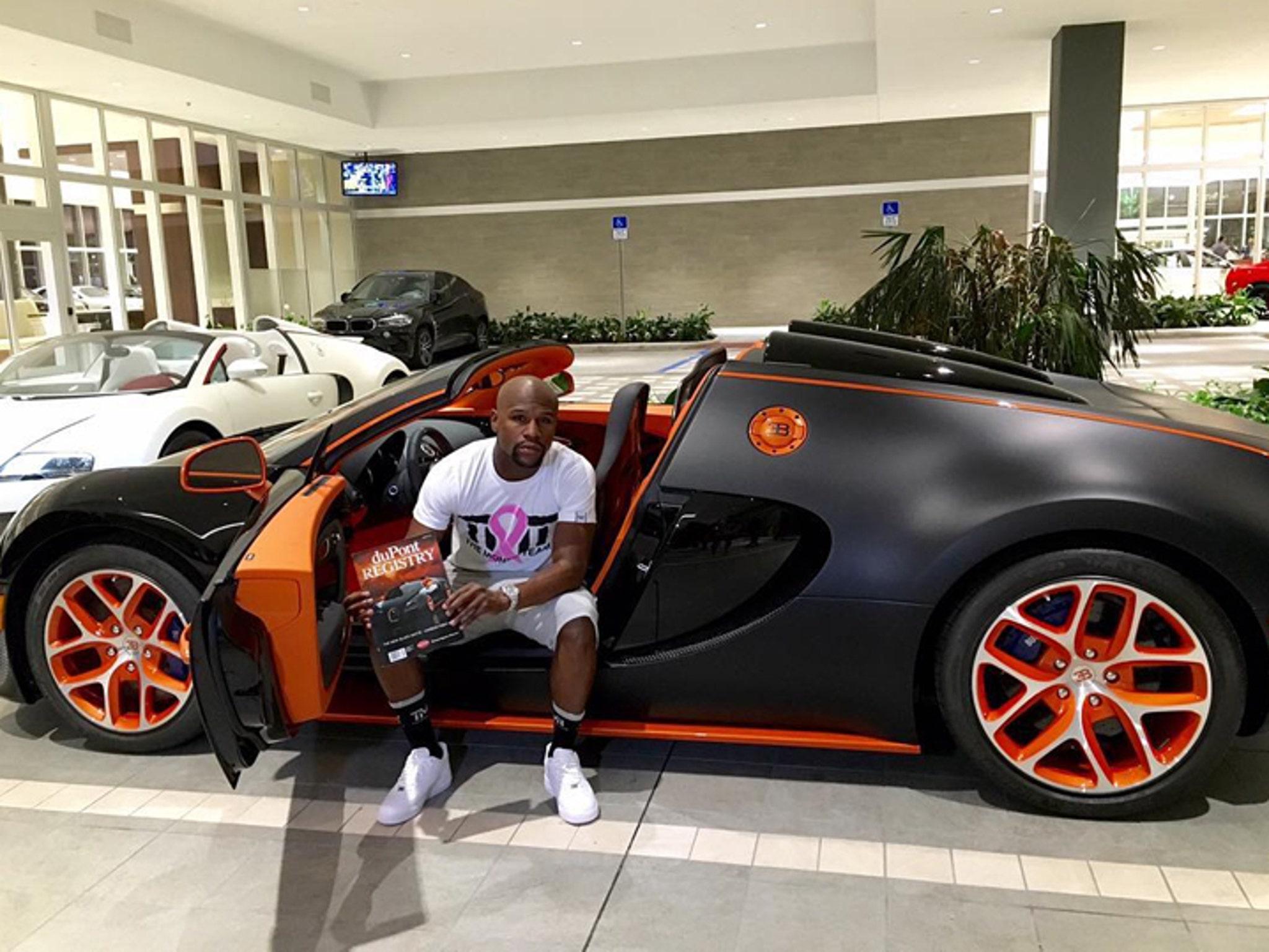 Bugattis For Sale >> Floyd Mayweather S Bugatti For Sale With 3 95 Million Price