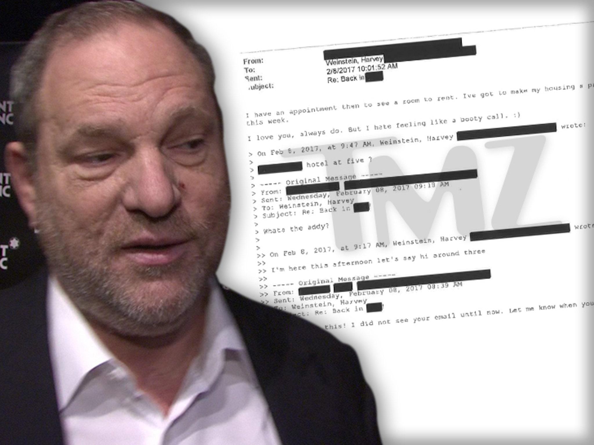 Harvey Weinstein's Alleged Victim Professed Love for Him After
