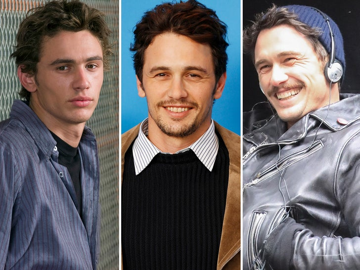 James Franco Through The Years