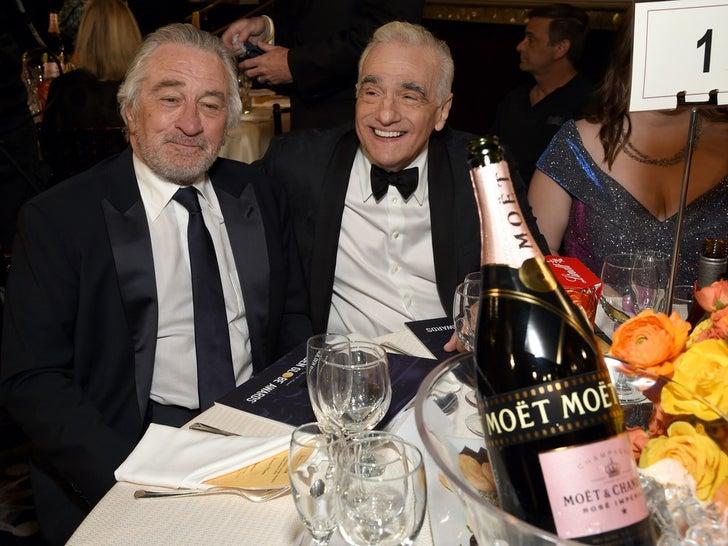 Golden Globe Awards 2020 -- Behind The Scenes Photos