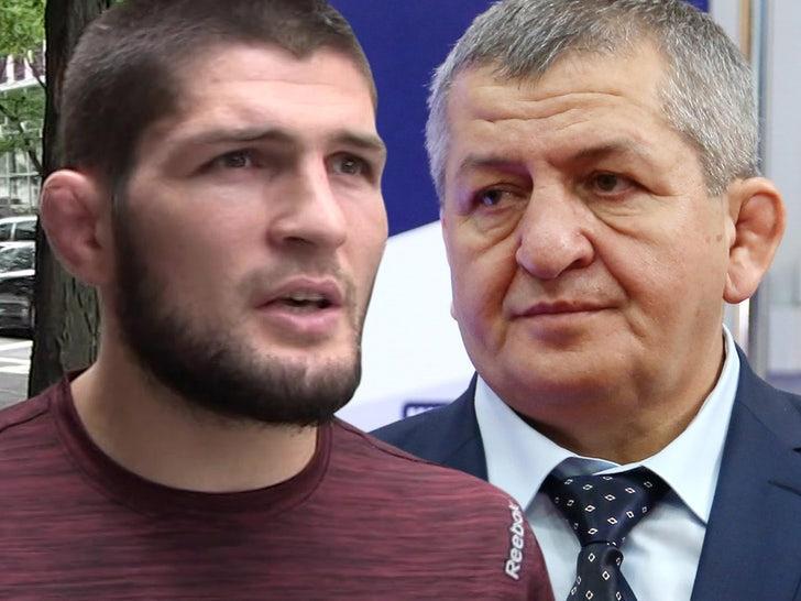 Khabib Nurmagomedov S Dad Reportedly Wakes From Coma After Heart Surgery