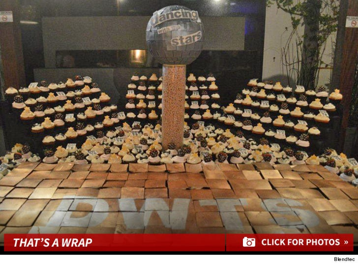 Dancing with the Stars -- $70K Smorgasbord at Wrap Party!