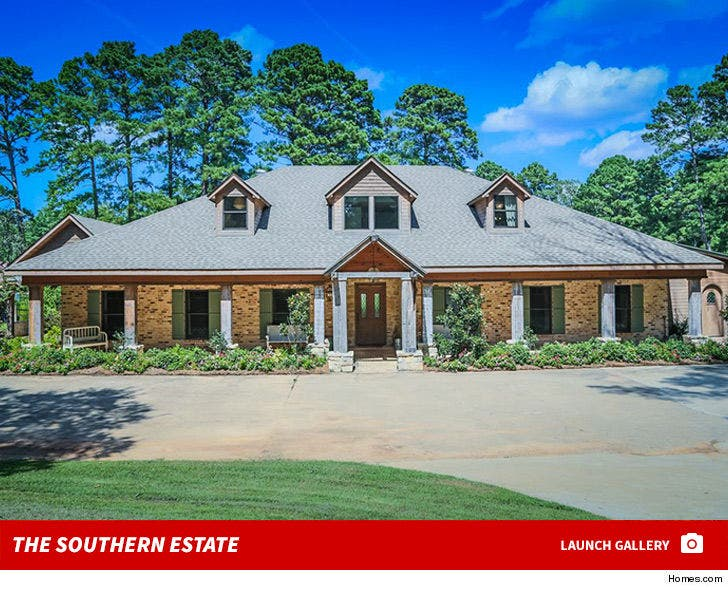 'Duck Dynasty' Star Jep Robertson -- Southern Estate for Sale!