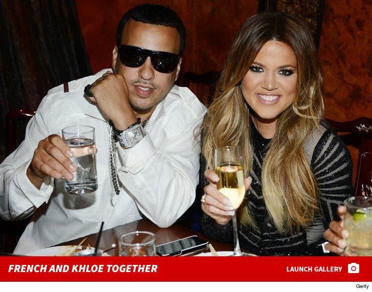 Khloe Kardashian and French Montana Together
