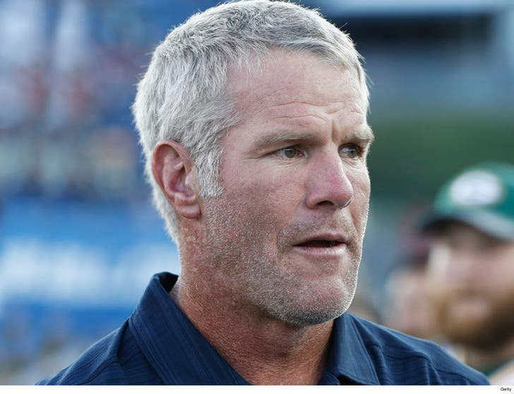Brett Favre Says Instagram Was Hacked, Not Coming Out of