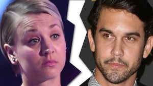 'Big Bang Theory' Star Kaley Cuoco -- Divorce is Not a Theory Anymore, It's a Reality