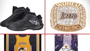 Kobe Bryant Memorabilia Hits Auction Block, Raising Money For Mamba Foundation