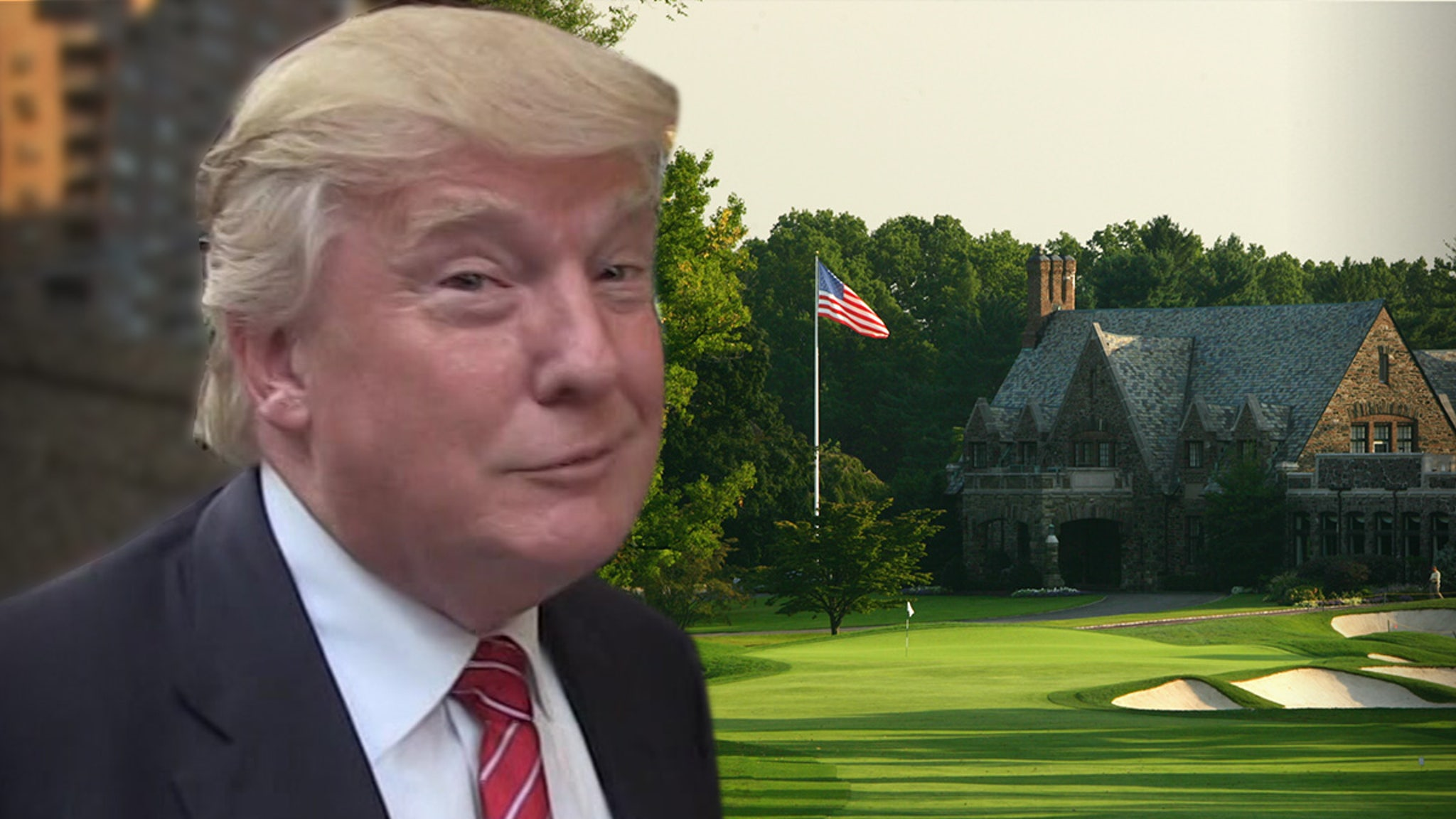 Donald Trump I've Shot Low 70s ... At Impossibly Hard Winged Foot Golf Course