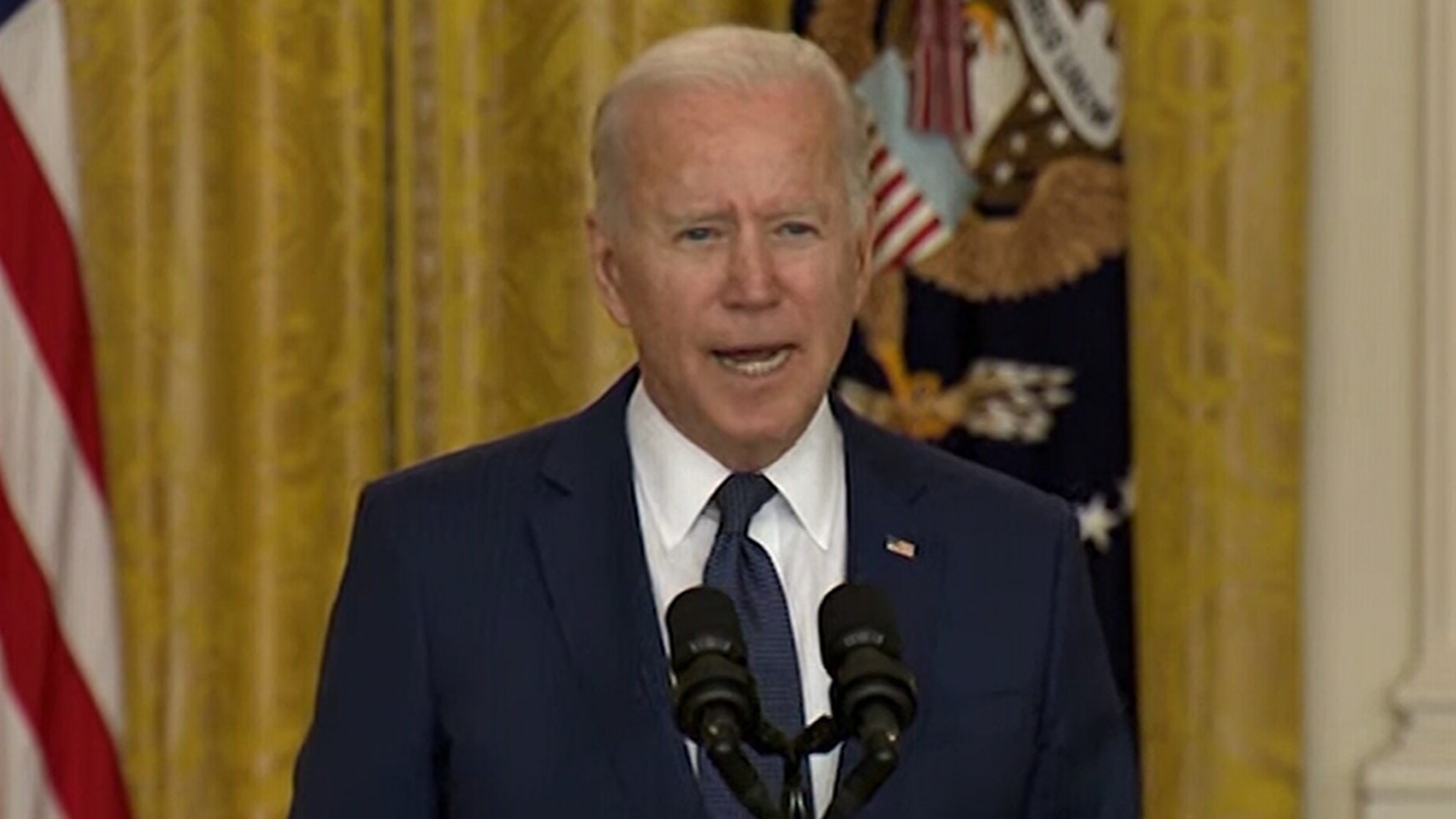 President Biden Promises to Hunt Down ISIS Terrorists in Emotional Speech