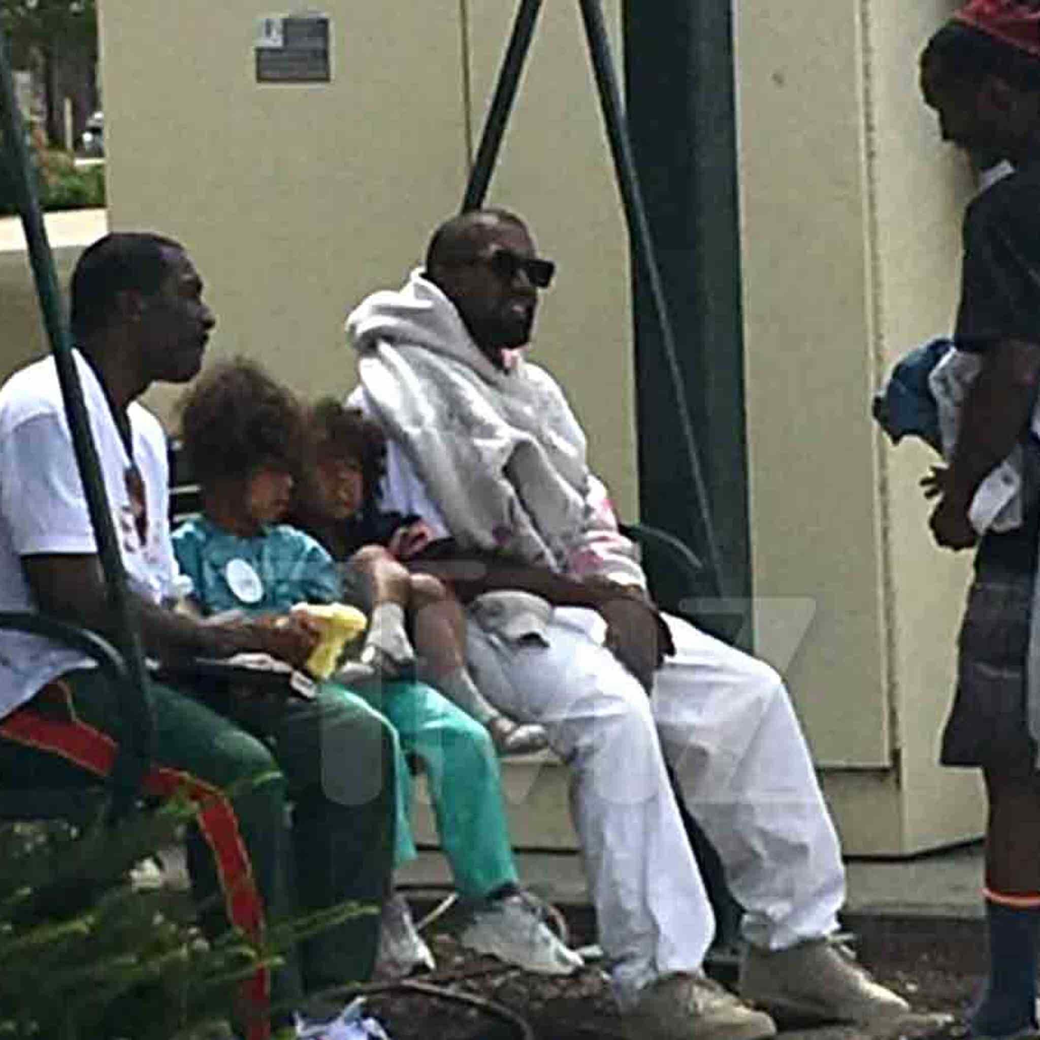 Kanye West in Dayton Ohio For Possible Sunday Service