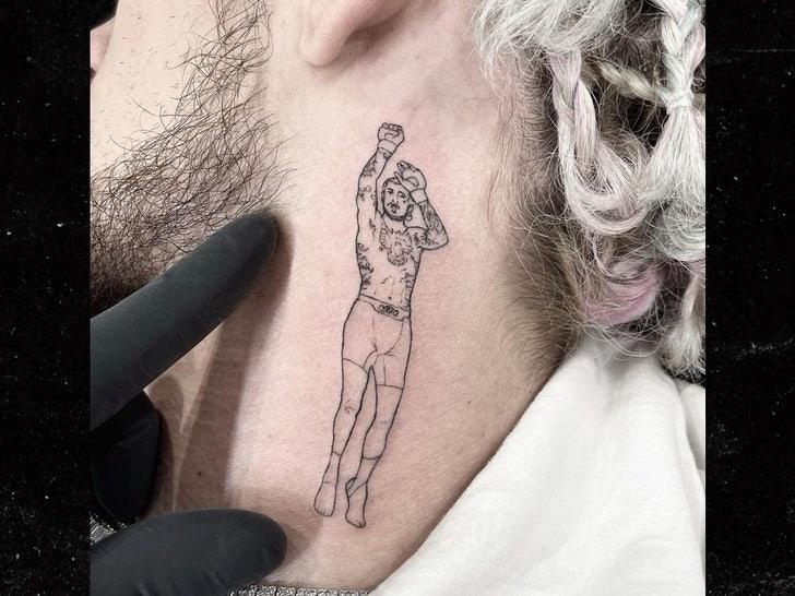 Sean OMalley neck tattoo