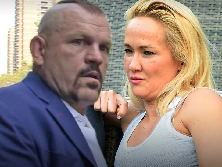 Chuck Liddell and wife