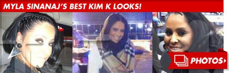 Myla Sinanaj's Best Kim K Looks