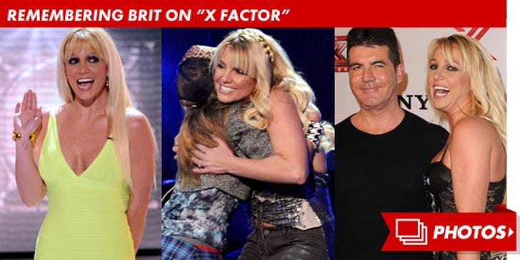 """Remembering Britney Spears on """"X Factor"""""""