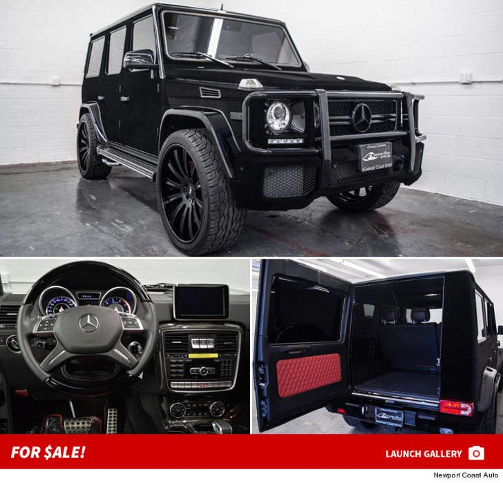 Kylie Jenner's Mercedes G Wagon -- For $ale!