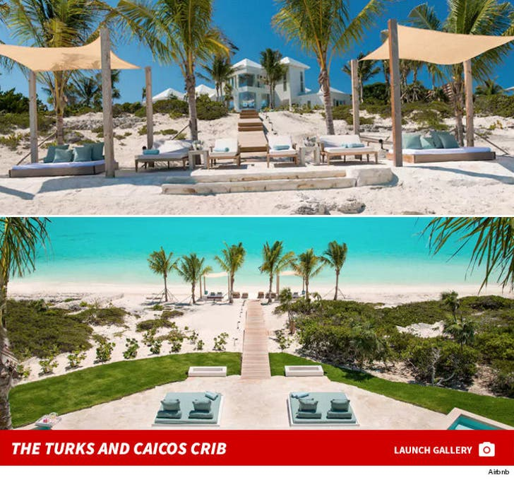 Kylie and Kendall's Turks and Caicos Rental