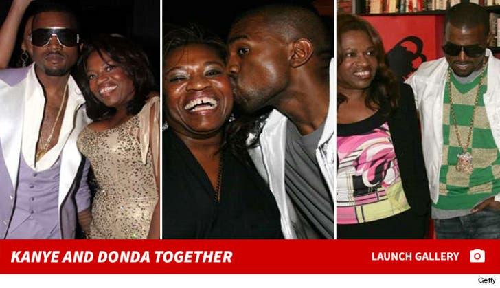Kanye and Donda West Together
