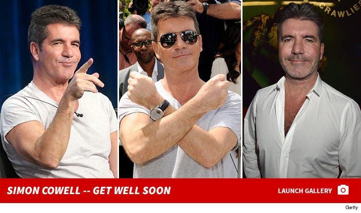 Simon Cowell -- Get Well Soon