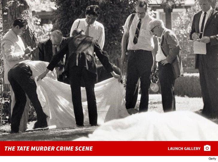 The Tate Murder Crime Scene