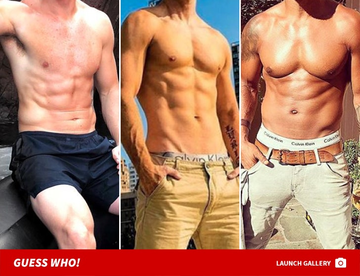 Hot Summer Stomachs -- Guess Who!